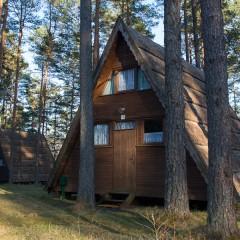 domek nad jeziorem Kaszuby - Brda