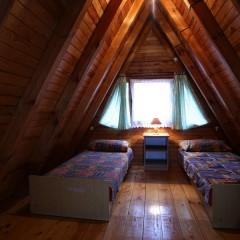 Brda - sypialnia na piętrze
